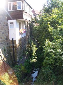 Streams and narrow houses