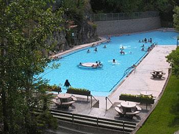 Radium Hot Springs resort