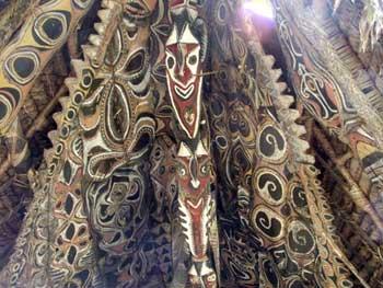 Papua New Guinea traditional decoration
