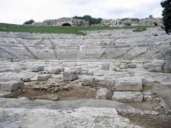 Greek theater on Syracuse