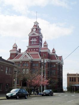 Bellingham, Washington old city hall
