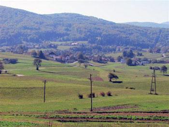 Gabrovka village countryside