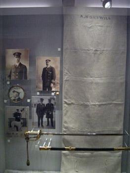Titanic museum exhibit