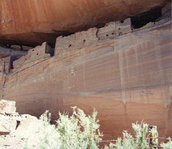 Canyon de Chelly, Anasazi dwellings