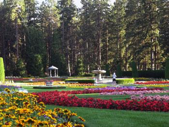 gardens in Manito Park