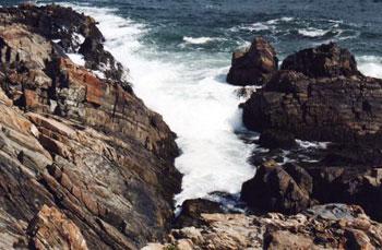 rocky shore, Ogunquit