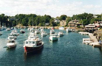 harbour at Perkins Cove, Maine