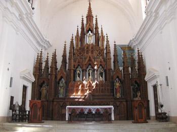Iglesia Parroquial de la Santísima Trinidad interior