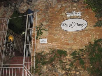Plaza Mayor restaurant