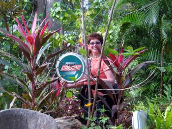 visiting botanical garden