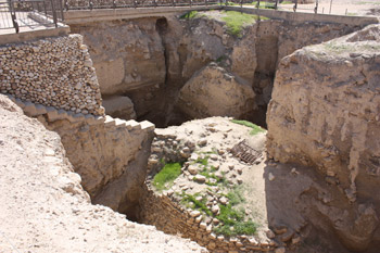 Tell es-Sultan - round tower