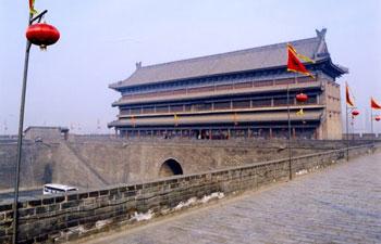 Xian city wall gate