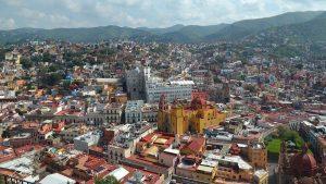 Guanajuato, Mexico city view