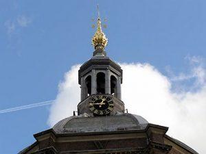 Marekerk church steeple