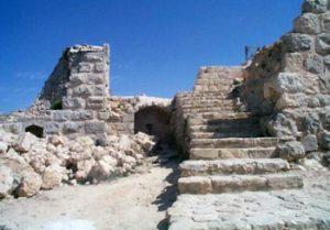 remains of Aljoun Temple, Jordan