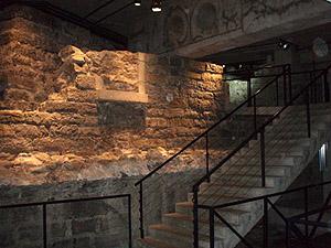 inside Pointe-à-Callière Museum