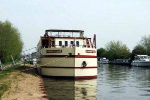 canal boat Edward Elgar