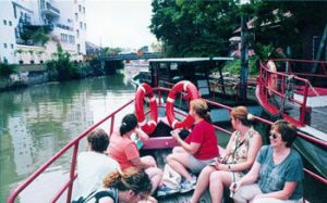 boat ride on Malacca canal