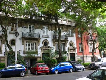 Roma area Mexico City