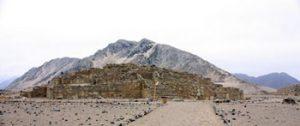 Gallery pyramid, Caral, Peru