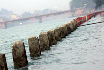 Ghat on Ganges at Haridwar