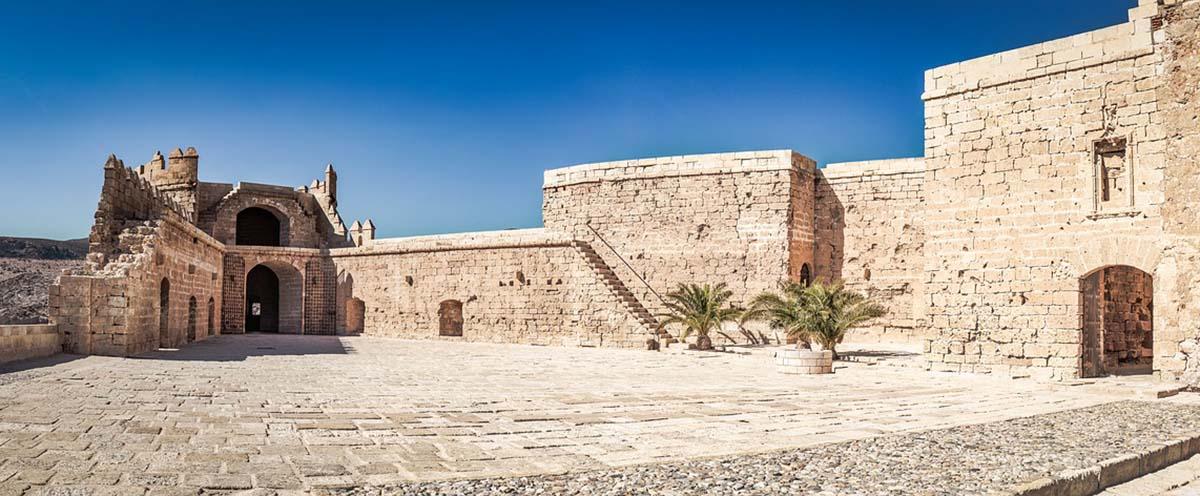 Alcazaba almeria fortress andalusia