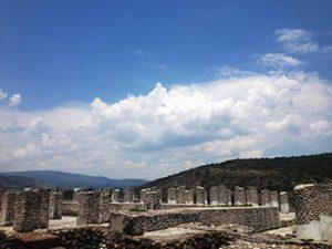 Toltec temple ruins