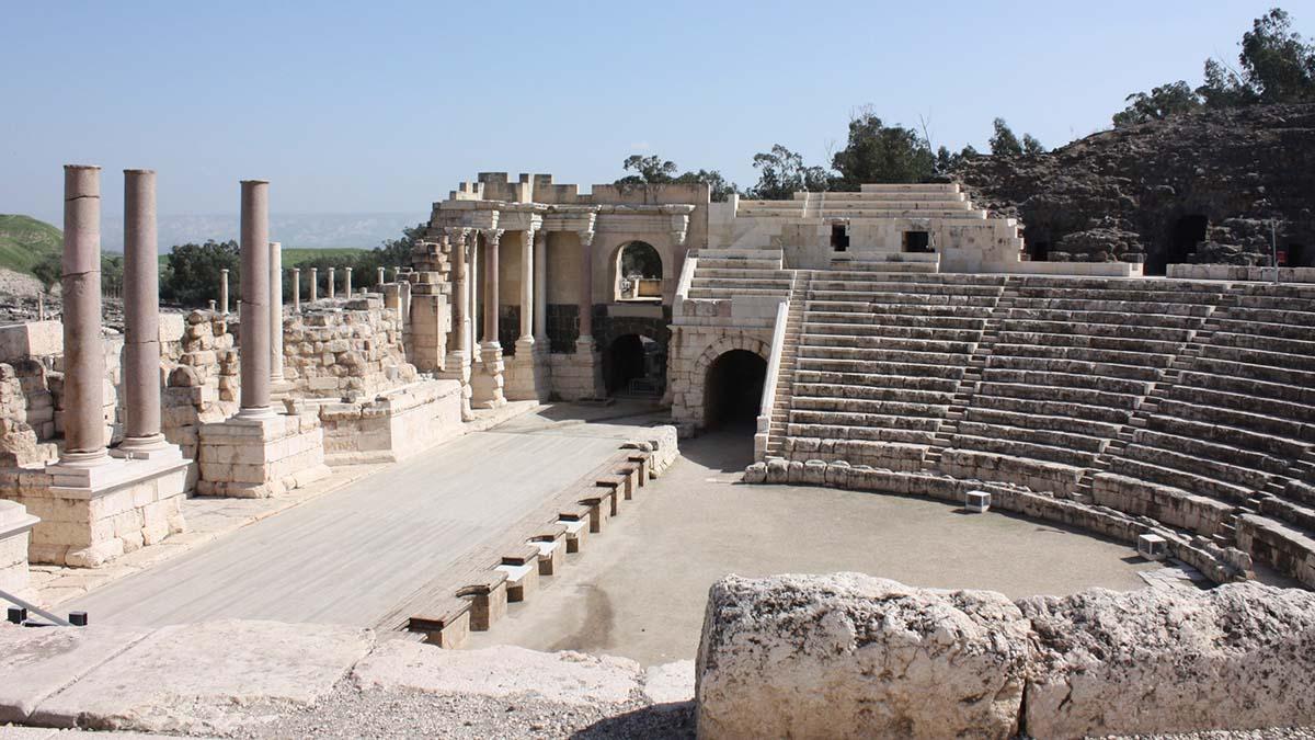 Beit She'an Roman theater