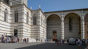 The East wall of Duomo Nuovo