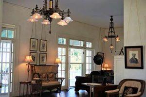 Interior of Edison winter home
