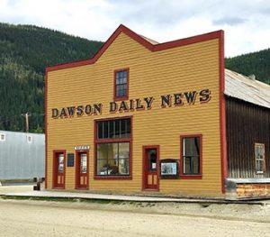 Dawson Daily News building