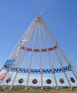 World's largest tepee