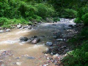 river near talgua cave