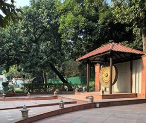 Birla House Peace Gong