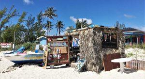Grand Bahamas beach shed