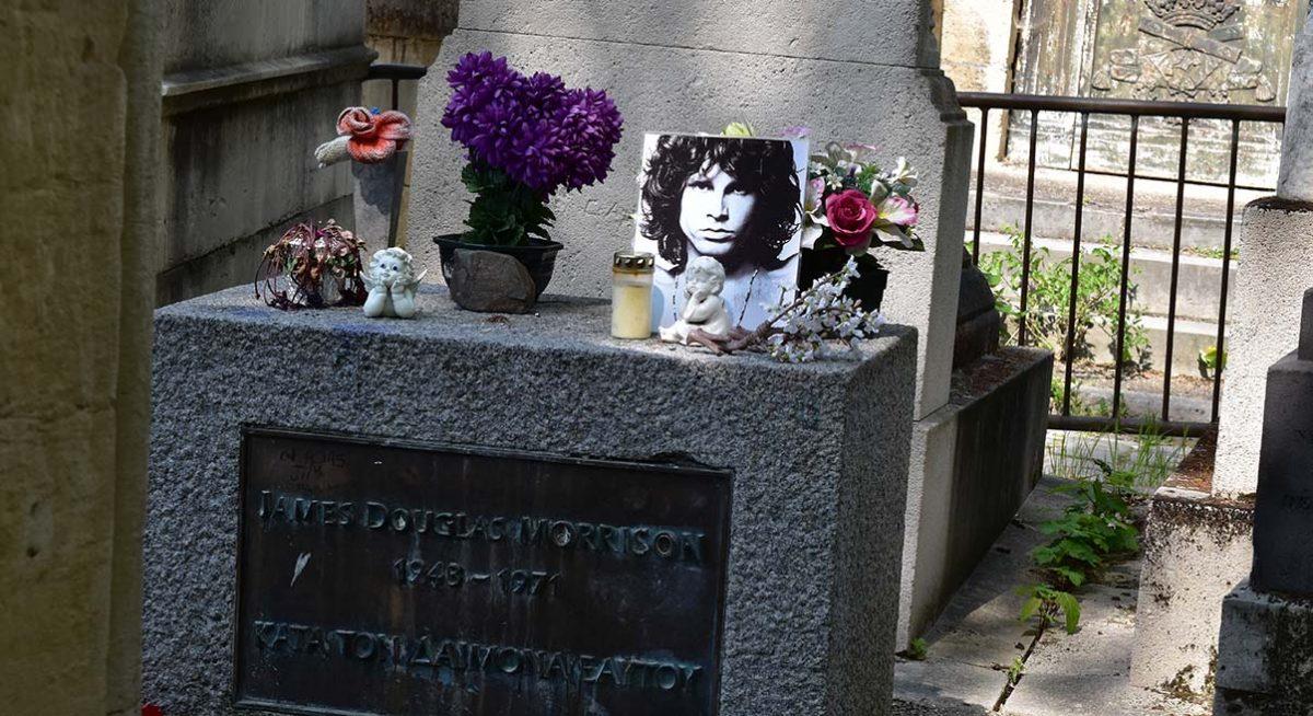 Jim Morrison Grave Paris