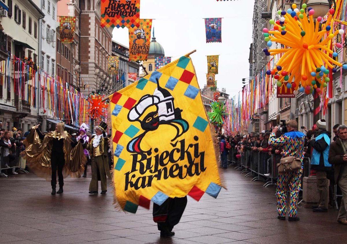 Rijeka carnival banner