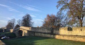 Ancient wall, York, UK
