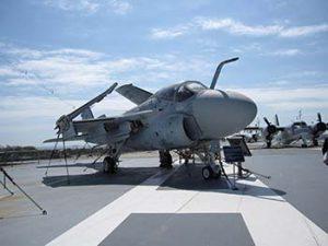 Navy planes on USS Yorktown