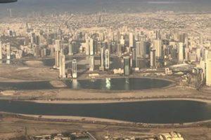 Dubai seen from the air
