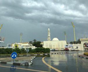 Rainy day in Dubai