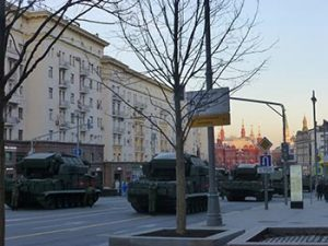 Army tanks Moscow