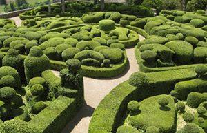 gardens at Marqueyssa