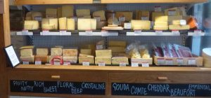 In a London cheese shop