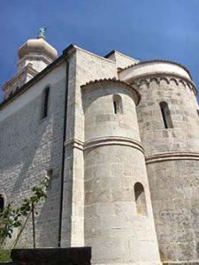 Church in Krk city