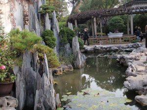 fountain in Lingering Garden