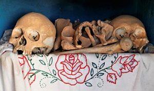 bones of ancestors
