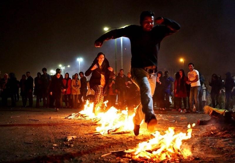 Iranian New Year fire