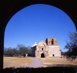 Church front facade