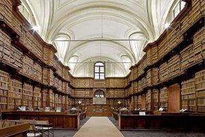Angelica library corridor